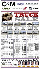 Annual Holiday Truck Sales