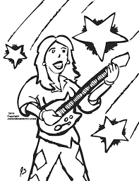 Mountain Climber Coloring Page