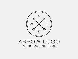Arrow Logo Template Templates Creative Market