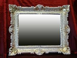 badezimmer ablage konsole set spiegel 50x76 antik barock