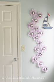 Pottery Barn Baby Wall Decor by The Decor Paper Flower Tutorials By Maria Noble