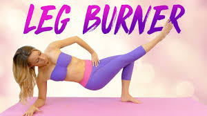 Slim Legs Inner Thighs With Becca Yoga Workout 20 Minutes At Home Fitness Beginners Thigh Gap