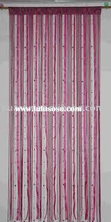 Natural Bamboo Beaded Door Curtain by Curtains U String Wood Curtain Natural Closet Hippie Beaded Door