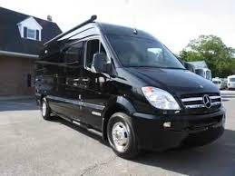 2012 Airstream Interstate 3500 Lounge 22 Black Mercedes Benz Sprinter Diesel RV Motor Home Class B