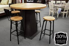 Rustic Style Pub Table And Stools (Set-4 Bar Stools W/ Back) Bemkenswert Pub Style Table Height Chairs Extenders Stools Glacier With 4 Post Mission Swivel Bar Units And Tables Set 19 Small Upholstered By New Classic At Lapeer Fniture Mattress Center Cramco Trading Company Starling 3 Piece Pinnadel Counter Stool Ashley Homestore Details About Round Natural Wood Top Bistro Kitchen Ding S2a4 Muskoka Swivel Balcony Chairs 499 Cottage D White Folding And Chair Dinette With Replace Rv Sets Homesfeed