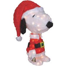 Product Works Santa Snoopy Holiday Figure 40397 A1 Irrigation