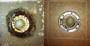 Tiling A Bathroom Floor Youtube by Wonderous Closet Flange On Tile Floor Roselawnlutheran