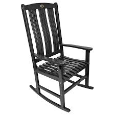 Wood Rocking Chair(s) With Slat Seat At Lowes.com