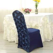Navy Blue Satin Raised Roses Spandex Stretchable Banquet ... Satin Banquet Chair Cover Red Covers Wedding Whosale Outdoor Ivory For Weddings Only 199 Details About 100 Universal Satin Self Tie Any Kind Of Chair Cover Decorations Good Looking Rosette Cap Hood Used For Spandex Free Shipping Pin On Our Tablecloths Bunting Hire Vintage Lamour Turquoise Cheap Seat Us 4980 200 Tie Round Top Cover Banquet Free Shipping To Russiain From Home Garden Brocade Ivory