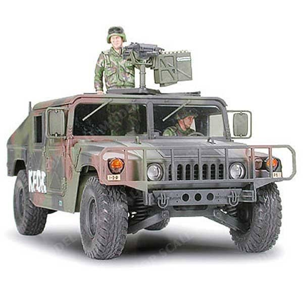 Tamiya 35263 M1025 Humvee Armament Carrier - 1:35 Scale