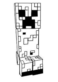 6 Best Images Of Minecraft Printable Sky Coloring Pages