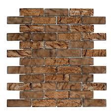 Jeffrey Court Mosaic Tile by Jeffrey Court Belgian Foil 12 In X 12 In X 8 Mm Glass Mosaic