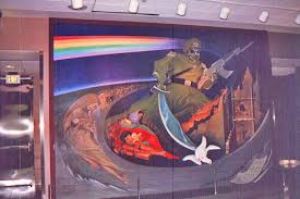 Caillou In The Bathtub Ytp by 14 Denver International Airport Murals Meaning Satanic And
