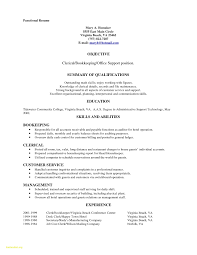 File Clerk Job Description Resume Best Of Objective Examples Medical Records Example No