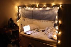 Christmas Lights In Bedroom Wall Dark Brown Bedside Fixture Beige