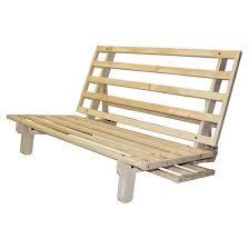 Austin All Wood Sit Lounge Sleep Futon Frame Sit N Sleep