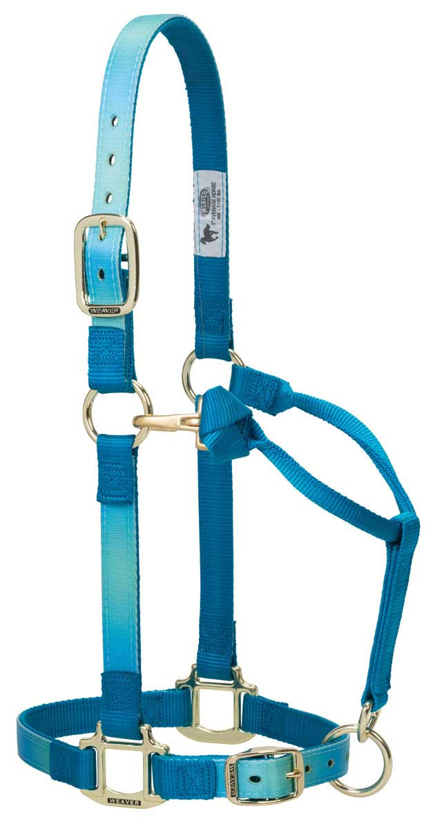 Weaver Leather Ombre Adjustable Nylon Horse Halter