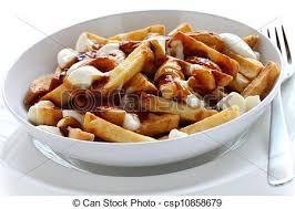 poutine cuisine poutine canadian cuisine picture search photo clipart csp10858679