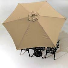 Patio Umbrella Canopy Replacement 6 Ribs 8ft by 9 Ft Replacement Top For 6 Ribs Patio Umbrella Cover Outdoor
