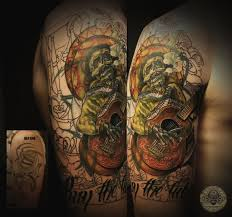Hatefulss 86 23 Sleeve Mexican Mariachi By 2Face Tattoo