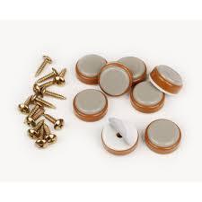 Furniture Sliders For Hardwood Floors Home Depot by Slipstick 1 In Round Caramel Color Self Stick Or On Floor