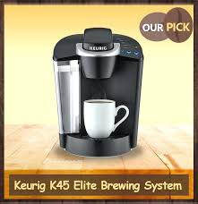 Keurig K45 Coffee Maker Single Serve Programmable K Cup Pod White