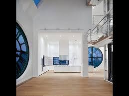 100 Clocktower Apartment Brooklyn Big Blue Clock Windows Amazing Blue White In 2019