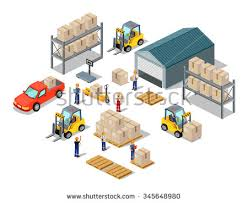 Storage Warehouse Clipart 10