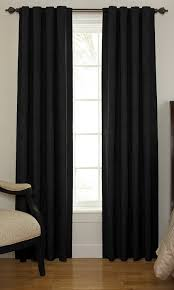 Sound Reduction Curtains Uk by Amazon Com Beautyrest 11239042x108bk Chenille 42 Inch By 108 Inch