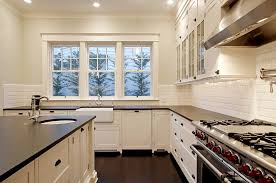 Kitchen Design Ideas Off White Cabinets Traditional With Stainless Steel Appliances Black