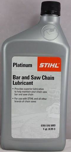 Stihl Platinum Bar and Saw Chain Lubricant - Quart