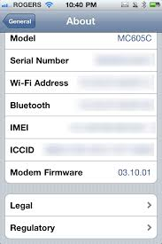 Daily Tip How to find out what iOS software and baseband version