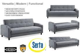 Serta Dream Convertible Sofa by Serta Futon Sofa Bed Home Inspiration