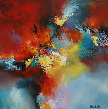 Color Storm By California Artist Nancy Eckels