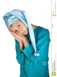 cute boy in blue pajama isolated stock photo image 62069338