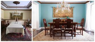 Pretentious Idea Dining Room Paint Colors Dark Wood Trim With