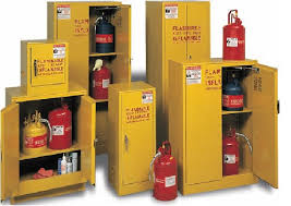 Flammable Liquid Storage Cabinet Grounding by 45 Gal Solvent Storage Cabinet