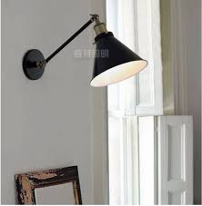 20th c library single sconce aged steel rh restoration fixture