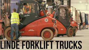 Linde Forklift Trucks Production And Work - YouTube Linde Forklift Trucks Production And Work Youtube Series 392 0h25 Material Handling M Sdn Bhd Filelinde H60 Gabelstaplerjpg Wikimedia Commons Forking Out On Lift Stackers Traing Buy New Forklifts At Kensar We Sell Brand Baoli Electric Forklift Trucks From Wzek Widowy H80d 396 2010 For Sale Poland Bd 2006 H50d 11000 Lb Capacity Truck Pneumatic On Sale In Chicago Fork Spare Parts Repair 2012 Full Repair Hire Series 8923 R25f Reach