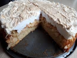 apfel zimt kuchen mit baiser