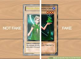Gate Guardian Deck 2006 by How To Identify Fake Yu Gi Oh Cards 11 Steps With Pictures
