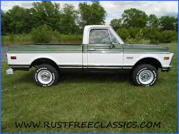 1972 GMC K10 Super Custom Factory 4x4 Short Bed SWB Green White