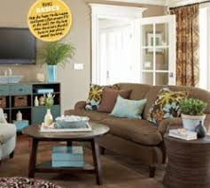if you have brown couches brown couch teal and brown