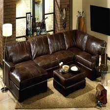 Buchannan Faux Leather Corner Sectional Sofa Chestnut by Brown Leather Sectional Sofa Living Room Wall Decoration Brown
