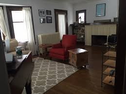 Layout for an awkward small living room How To Decorate