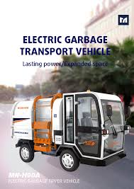 100 Sanitation Truck Mnh90a Electric Hydraulic Transport Vehicle Buy