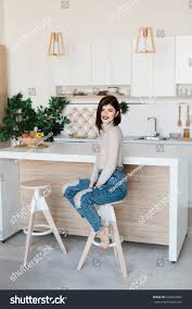 Girl Standing Near Kitchen Table High Stock Photo (Edit Now ... Safety First Timba Highchair White High Chairs Strolleria Ikea Chair With Standing Laptop Station Fniture Little Girl Standing Image Photo Free Trial Bigstock Handsome Artist Eyeglasses Gallery Amazoncom Floorstanding High Bracket Bar Lift Modern Girl Naked On A Chair Stand In The Bathroom Tower Or Learning Made Splendid Office Desks Amusing Solar Cantilever Leander Free Worth Vitra Rookie