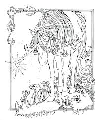 Coloring Pages Of Unicorns For Adults 2115074