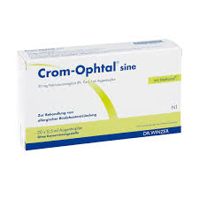 CromOphtal Sine Augentropfen 20X05ml PZN 04930262 EBay