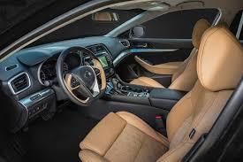 All New Nissan Maxima Named a 2016 10 Best Interior
